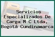 Servicios Especializados De Carga M C Ltda. Bogotá Cundinamarca