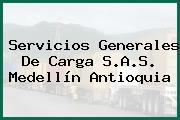 Servicios Generales De Carga S.A.S. Medellín Antioquia