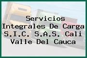 Servicios Integrales De Carga S.I.C. S.A.S. Cali Valle Del Cauca