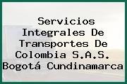 Servicios Integrales De Transportes De Colombia S.A.S. Bogotá Cundinamarca