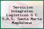Servicios Integrales Logisticos G C S.A.S. Santa Marta Magdalena