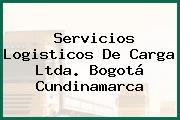 Servicios Logisticos De Carga Ltda. Bogotá Cundinamarca
