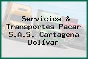Servicios & Transportes Pacar S.A.S. Cartagena Bolívar