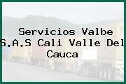 Servicios Valbe S.A.S Cali Valle Del Cauca