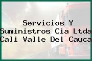 Servicios Y Suministros Cia Ltda Cali Valle Del Cauca