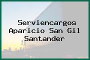 Serviencargos Aparicio San Gil Santander