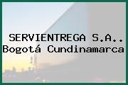 SERVIENTREGA S.A.. Bogotá Cundinamarca