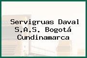 Servigruas Daval S.A.S. Bogotá Cundinamarca
