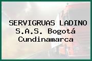 SERVIGRUAS LADINO S.A.S. Bogotá Cundinamarca