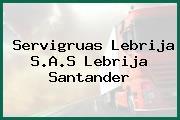 Servigruas Lebrija S.A.S Lebrija Santander
