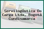 ServilogÚstica De Carga Ltda. Bogotá Cundinamarca