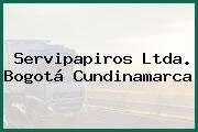 Servipapiros Ltda. Bogotá Cundinamarca