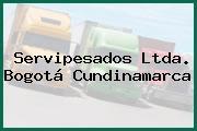 Servipesados Ltda. Bogotá Cundinamarca