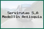 Servirutas S.A Medellín Antioquia