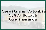 Servitrans Colombia S.A.S Bogotá Cundinamarca