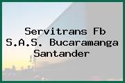 Servitrans Fb S.A.S. Bucaramanga Santander