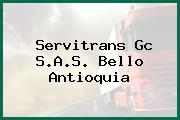 Servitrans Gc S.A.S. Bello Antioquia