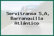 Servitransa S.A. Barranquilla Atlántico