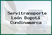 Servitransporte León Bogotá Cundinamarca