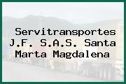Servitransportes J.F. S.A.S. Santa Marta Magdalena