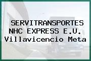 SERVITRANSPORTES NHC EXPRESS E.U. Villavicencio Meta