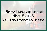 Servitransportes Nhc S.A.S Villavicencio Meta