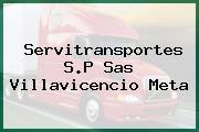 Servitransportes S.P Sas Villavicencio Meta