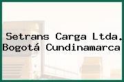 Setrans Carga Ltda. Bogotá Cundinamarca