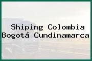 Shiping Colombia Bogotá Cundinamarca