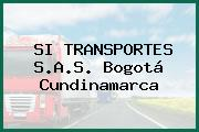 SI TRANSPORTES S.A.S. Bogotá Cundinamarca