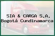 SIA & CARGA S.A. Bogotá Cundinamarca