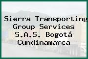 Sierra Transporting Group Services S.A.S. Bogotá Cundinamarca