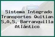 Sistema Integrado Transportes Quitian S.A.S. Barranquilla Atlántico
