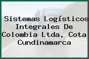 Sistemas Logísticos Integrales De Colombia Ltda. Cota Cundinamarca