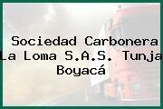 Sociedad Carbonera La Loma S.A.S. Tunja Boyacá