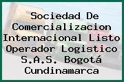 Sociedad De Comercializacion Internacional Listo Operador Logistico S.A.S. Bogotá Cundinamarca