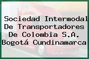 Sociedad Intermodal De Transportadores De Colombia S.A. Bogotá Cundinamarca