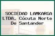 SOCIEDAD LAMKARGA LTDA. Cúcuta Norte De Santander