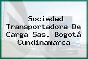 Sociedad Transportadora De Carga Sas. Bogotá Cundinamarca