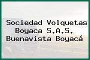 Sociedad Volquetas Boyaca S.A.S. Buenavista Boyacá