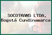 SOCOTRANS LTDA. Bogotá Cundinamarca