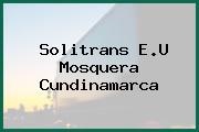 Solitrans E.U Mosquera Cundinamarca