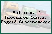 Solitrans Y Asociados S.A.S. Bogotá Cundinamarca