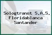 Sologtranst S.A.S. Floridablanca Santander