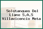 Solotanques Del Llano S.A.S Villavicencio Meta