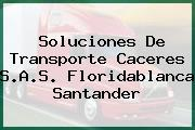 Soluciones De Transporte Caceres S.A.S. Floridablanca Santander