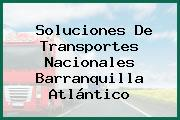 Soluciones De Transportes Nacionales Barranquilla Atlántico