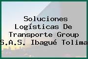Soluciones Logísticas De Transporte Group S.A.S. Ibagué Tolima