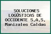 SOLUCIONES LOGÚSTICAS DE OCCIDENTE S.A.S. Manizales Caldas