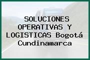 SOLUCIONES OPERATIVAS Y LOGISTICAS Bogotá Cundinamarca